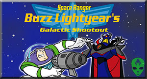 Game Toy Story Buzz Lightyear Galactic Shootout