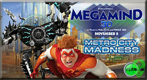 Game Megamind Mero City Madness