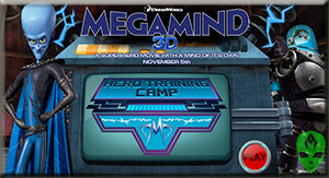 Game Megamind Hero Training Camp