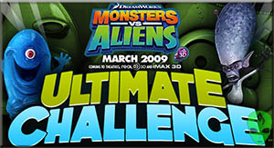 Game Monsters vs Aliens Ultimate Challenge