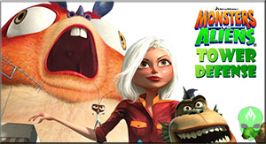 Game Monsters vs Aliens Tower Defense