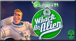 Game Planet 51 3D Whack an Alien
