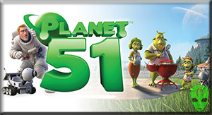 Planet 51 3D Games Free Online
