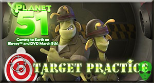 Game Planet 51 Target Practice