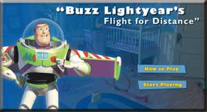Toy Story Buzz Lightyear Flight for Distance