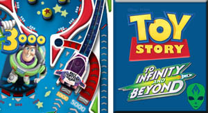 Game Toy Story Buzz Lightyear Space Pinball