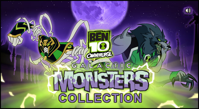 Alien Jogos Ben 10 Omniverse Galactic Monsters Collection